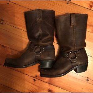 Woman's Frye Harness Boots